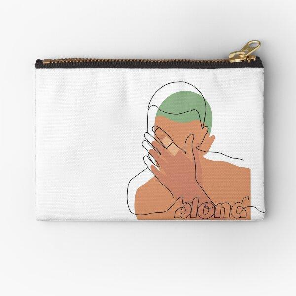 Minimalistic Frank Ocean Blond  Zipper Pouch
