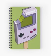 Game Boy Icicle Spiral Notebook