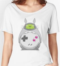 Game Boy Totoro Women's Relaxed Fit T-Shirt