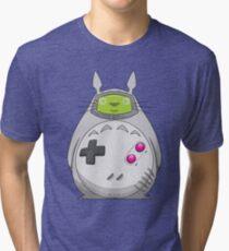 Game Boy Totoro Tri-blend T-Shirt