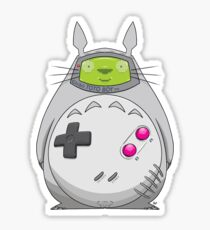 Game Boy Totoro Sticker