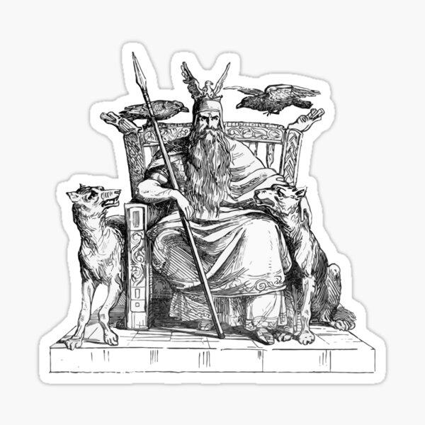 Mighty Odin Sticker