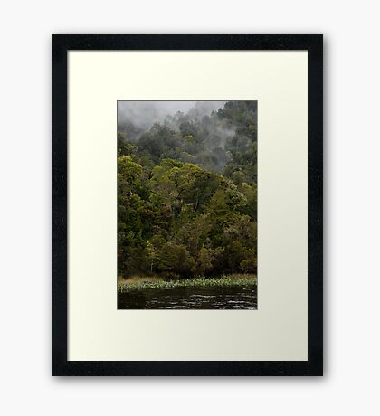 the edge of the derwent Framed Print