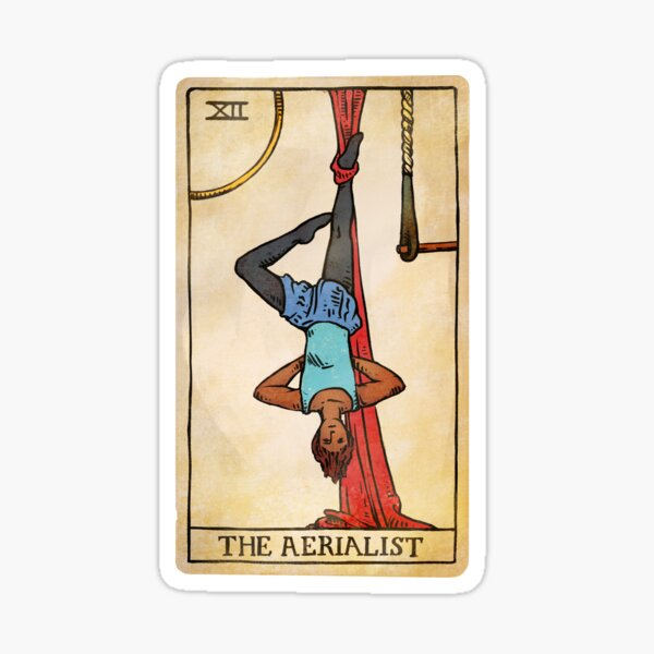 The Aerialist - Tarot Card Sticker