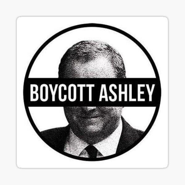 Boycott Ashley Sticker