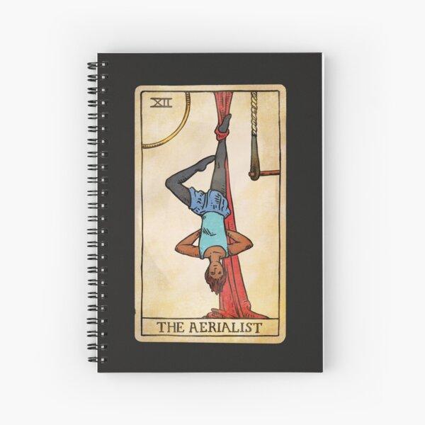 The Aerialist - Tarot Card Spiral Notebook
