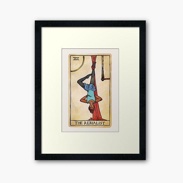 The Aerialist - Tarot Card Framed Art Print