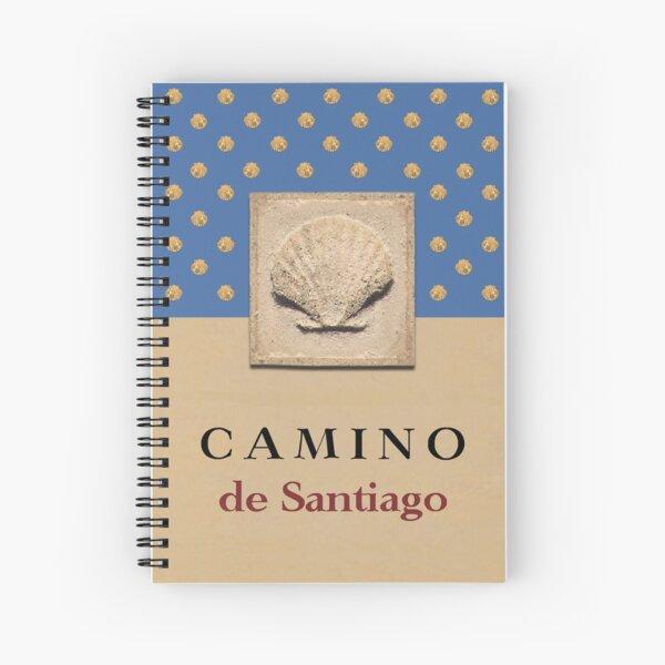 Camino de Santiago diario Cuaderno de espiral