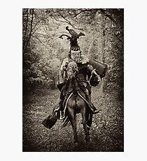 Black Knight Photographic Print
