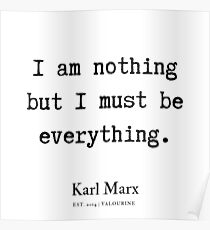 6  | Karl Marx Quotes | 190817 Poster