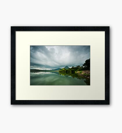 Life is so beautiful that death has fallen in love with it Framed Print