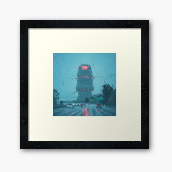 The Electric State / Raindrops Framed Art Print