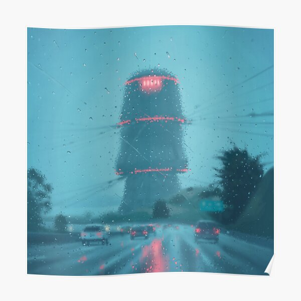 The Electric State / Raindrops Poster
