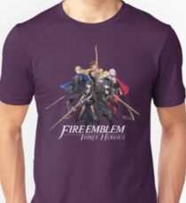 Fire Emblem™: Three Houses - House Leaders & Byleth (Male + Female) Slim Fit T-Shirt