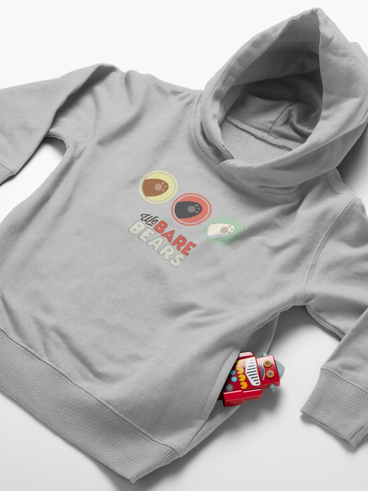 Alternate view of We Bare Paws Toddler Pullover Hoodie