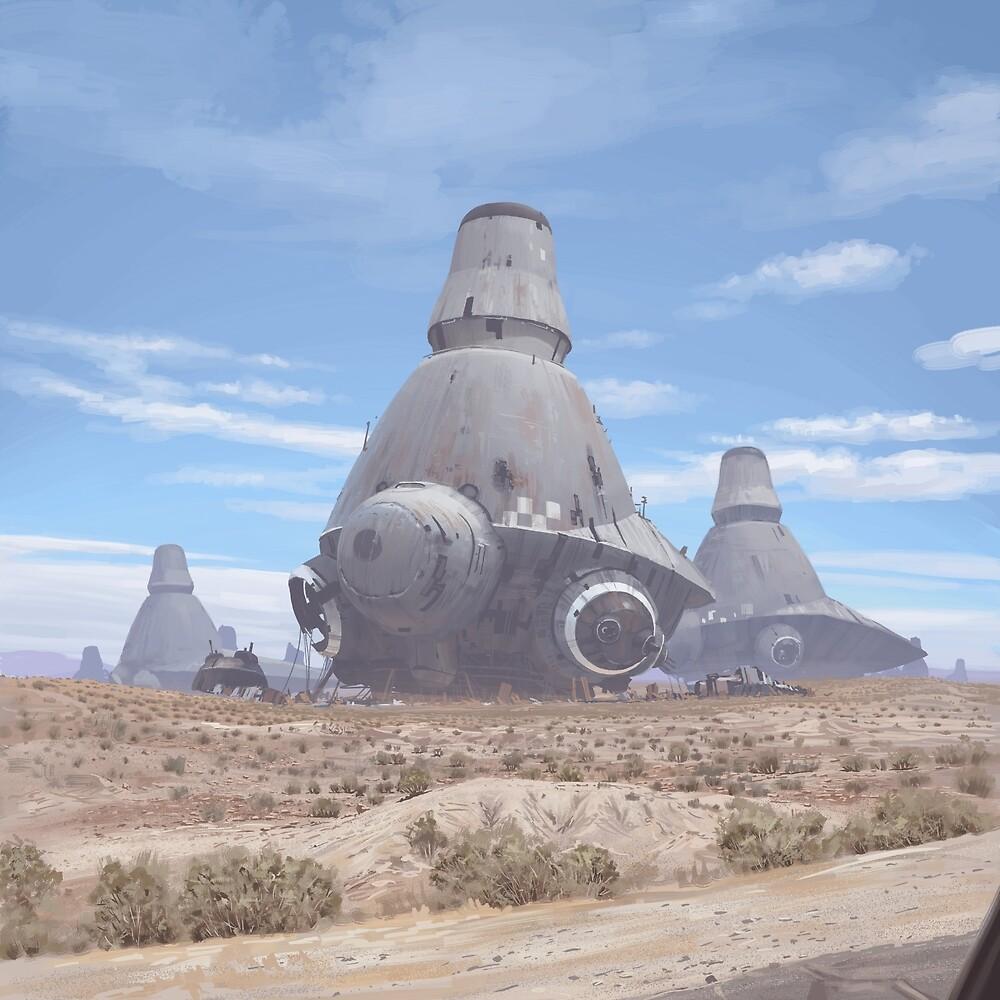 War Machines by Simon Stålenhag
