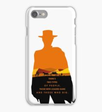 2 Types of people iPhone Case/Skin