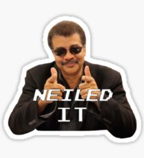 Neiled It Sticker