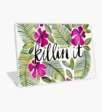 Killin 'es - tropisches Rosa Laptop Skin