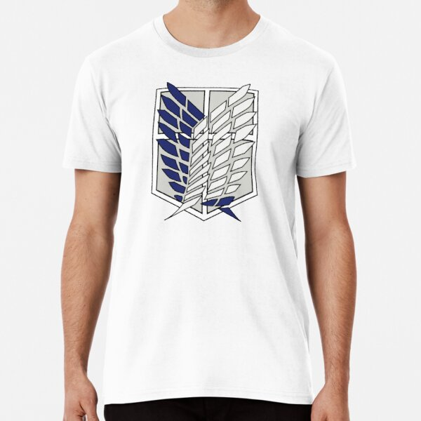 Attaque des Titans Shingeki no Kyojin SNK Logo T-shirt premium