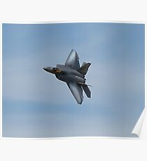 US Air Force F-22 Raptor  Poster