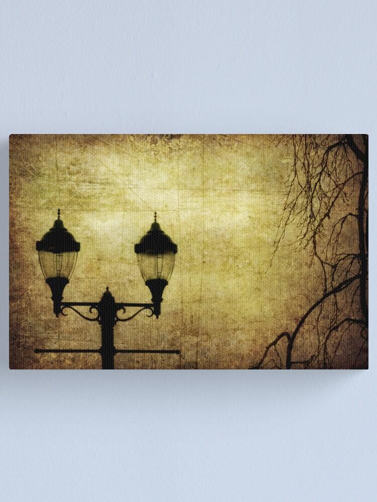 Alternate view of Street Lanterns Canvas Print
