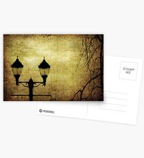 Street Lanterns Postcards