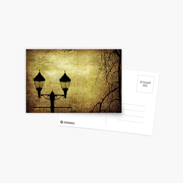 Street Lanterns Postcard