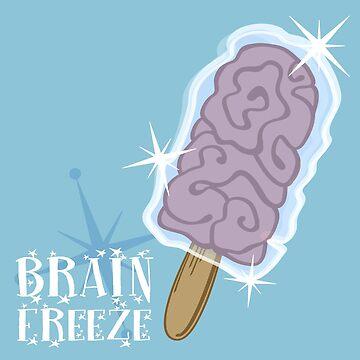 Brain Freeze by darthterry
