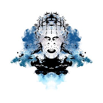 Rorschach Pinhead (Hellraiser) by NormalSizedDeet