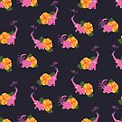 pink elephant summer flower by hahaha-creative