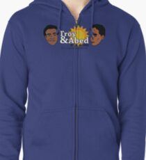 The Real Morning Talkshow Zipped Hoodie
