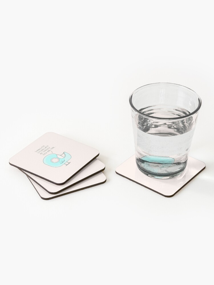 Alternate view of Let's stick together... Coasters (Set of 4)