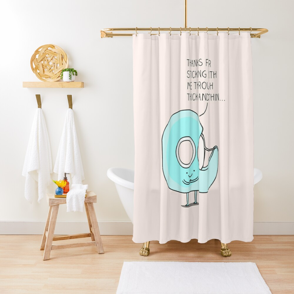 Let's stick together... Shower Curtain