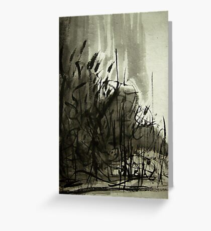 gorge forest.... Greeting Card