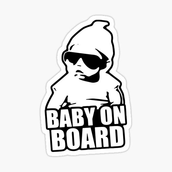 Baby On Board Sticker  Sticker