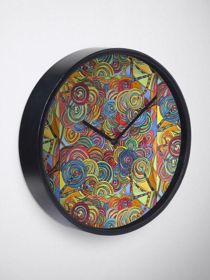 Alternative Ansicht von Energien bündeln Uhr