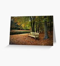 Sit Down And Enjoy Greeting Card