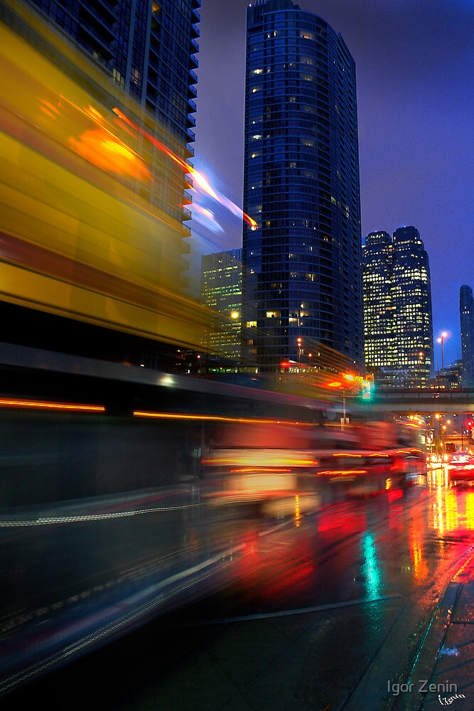 Street Life Blur by Igor Zenin