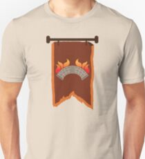 BANNER CREST SIGIL burning bridge BRIDGEBURNERS Unisex T-Shirt