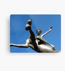 Leaping Into The Sky Metal Print