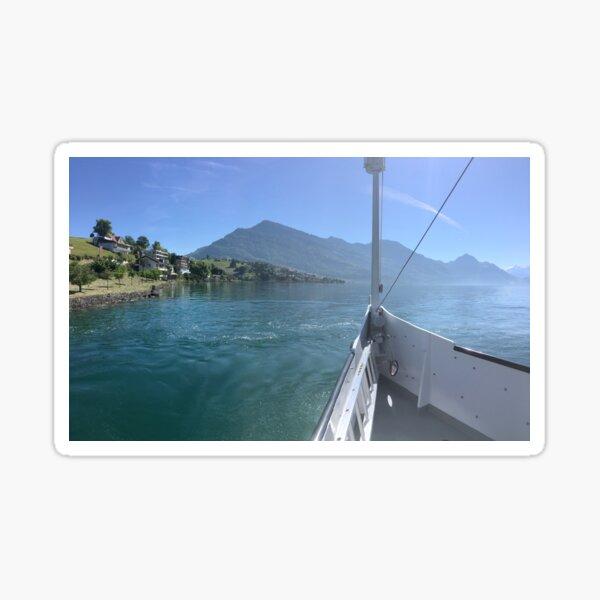 I'm on a boat Sticker