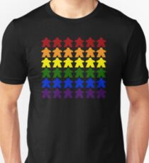 Gay Pride (Meeple Edition) Unisex T-Shirt