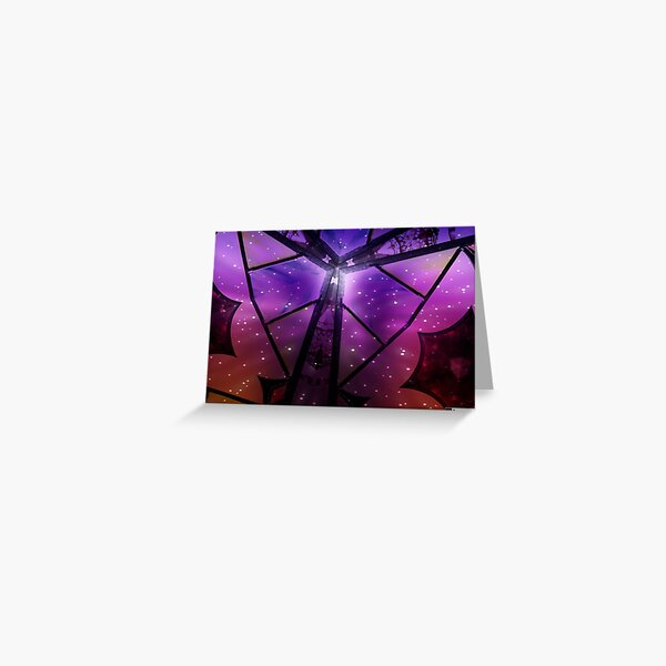 Midnight Butterfly Greeting Card