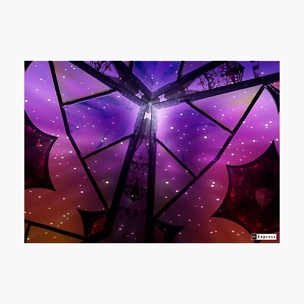 Midnight Butterfly Photographic Print