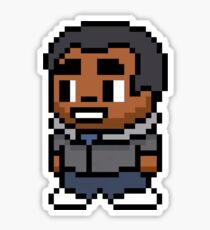 8-Bit Troy Barnes Sticker
