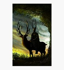 Stag Lord Photographic Print