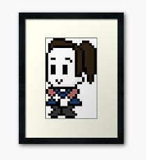 8-Bit Annie Edison  Framed Print