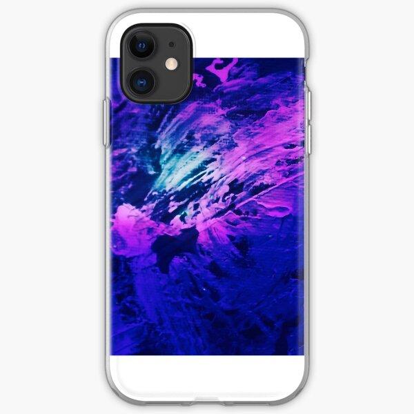 Cosmic Flight iPhone Soft Case
