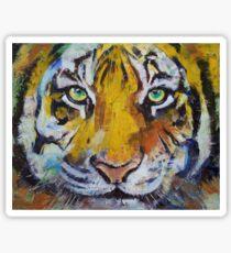 Tiger Psy Trance Sticker